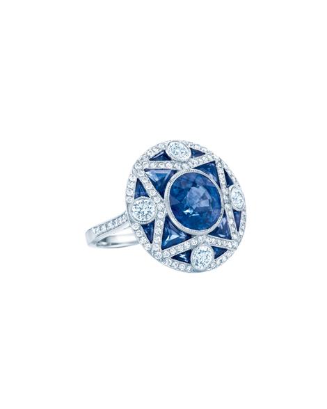 Art Deco inspired Ring; Foto: Tiffany