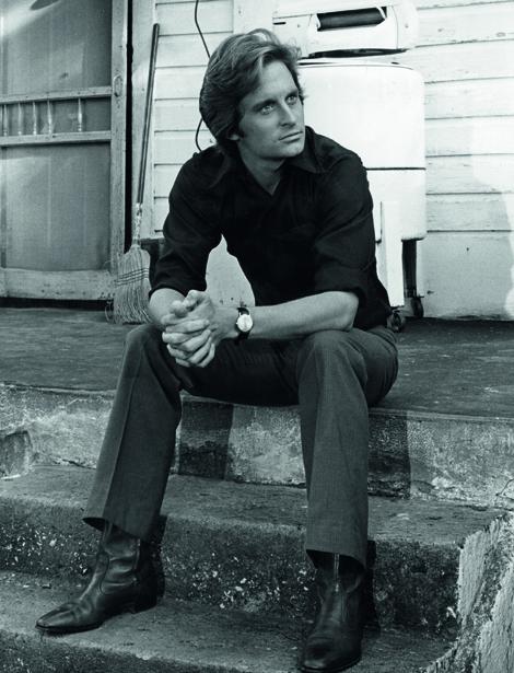 Ein hochintelligenter Künstler bei der Arbeit: Shcon 1970 trug Michael seinen unvergleichlich lässigen Fassonschnitt.